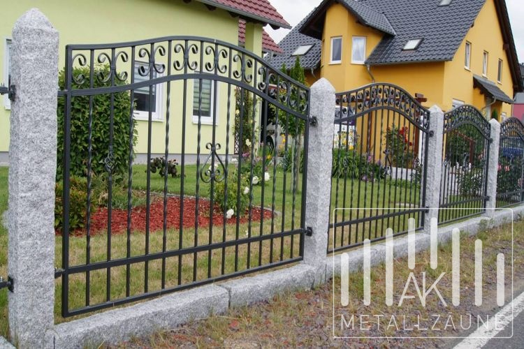 Ak Metal Zaune Aus Polen Celle Zaun 7 Schmiedeeiserne Z Une